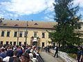 ŚDM Kraków 2016 Franciszkańska 3 oczekiwanie.jpg