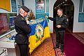 Бойовий прапор Керченської бригади НГУ переданий до Центрального музею НГУ 9700 (25778899234).jpg