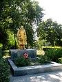 Братська могила радянських воїнів, с. Трудове, біля контори щебеневого заводу, Більмацький район, Запорізька обл.jpg