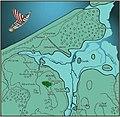 Земля и вода вокруг Каупа эпохи викингов.jpg