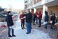 Комсомольцы у свердловского обкома КПРФ раздают листовку против Ивачева 16 марта 2019 года.jpg
