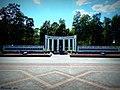 Мемарыяльны комплекс прысвечаны салдатам загінулым у другой сусветнай вайне ... The memorial complex dedicated to the fallen soldiers of World War II - panoramio.jpg