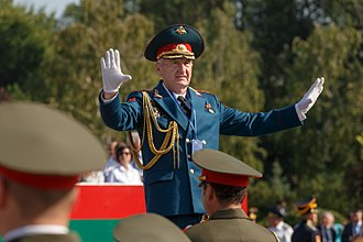 Armed Forces of Transnistria - Director of Music of the General Staff Band, Colonel Vitaly Voinov.