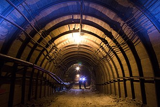 "Alrosa - ""International"" underground mine, Mirny, Yakutia"