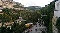 Рогожкин. Свято-Успенский пещерный монастырь - Бахчисарай. Площадь у источника.jpg