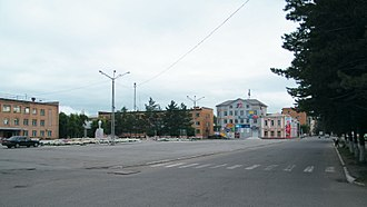 Spassk-Dalny - A street in Spassk-Dalny