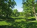 Стрельна, Орловский парк, пруд с островом01.jpg