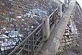 Тоннель и подпорная стена ж.д перегона Пермь-1 – Пермь-2. Лестница 01.jpg