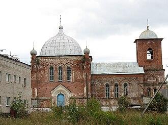 Okulovsky District - Church of the Nativity of Christ in Uglovka