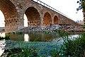 גשר הרכבת הטורקי הישנה The old Turkish railway bridge.jpg