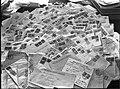 """ירושלים - הדואר המתקבל בלשכה הראשית של קק""""ל.-JNF044356.jpeg"""
