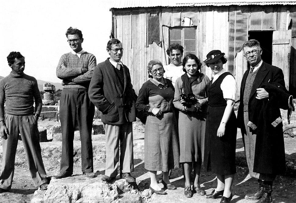 משלחת חפירות בית שערים עם משפחת זייד