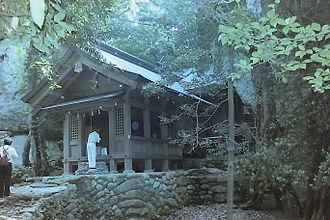 Sacred Island of Okinoshima and Associated Sites in the Munakata Region - Image: 宗像大社沖津宮