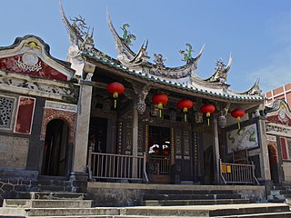Mazu Temple (Magong) one of the oldest temples in Penghu and Taiwan.