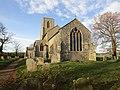 -2018-12-10 East elevation of Saint Margaret of Antioch parish church, Suffield, Norfolk.JPG