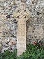 -2019-01-14 Celtic cross memeorial, churchyard of Saint Michael and All Angels, Sidestrand (1).JPG