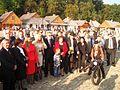 00017 Bilder von der Marktplatzeröffnung im Freilichtmuseum Sanok durch Minister Zdrojewski, am 16. September 2011.jpg