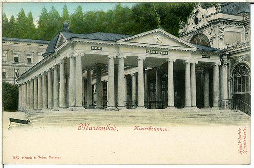 00925-Marienbad-1899-Kreuzbrunnen-Brück & Sohn Kunstverlag