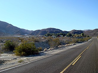 Panamint Springs, California - Panamint Springs, sitting on the western edge of Panamint Valley.