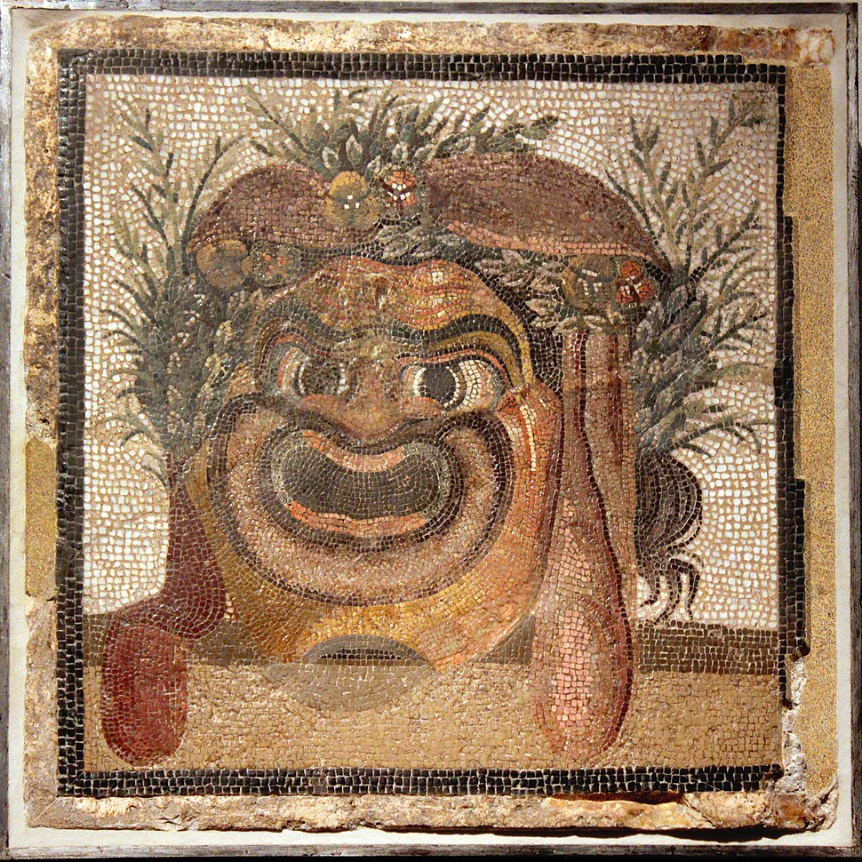 01XX Comedy Mask Old Slave Altes Museum anagoria