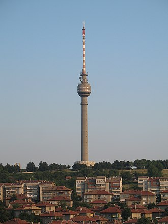 Rousse TV Tower - The Rousse TV Tower
