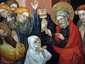 072 Centre d'interpretació de la Seu d'Ègara, fragment del retaule de Sant Pere.JPG
