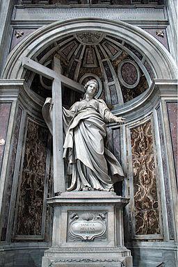 Statue of Saint Helena by Andrea Bolgi
