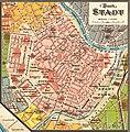 1. Bezirk - Plan der Reichshaupt - & Residenzstadt Wien von Gustav Freytag (cropped).jpg