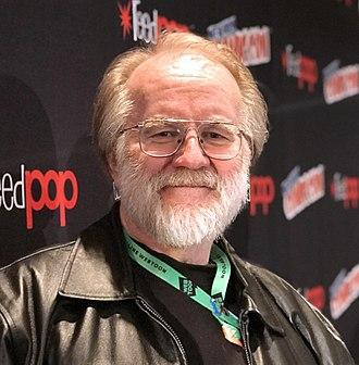 John Byrne (comics) - Byrne at the New York Comic Con