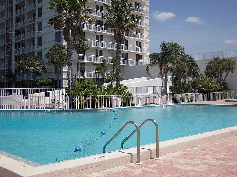 File 100 Pierce Swimming Pool In Clearwater Florida Wikimedia Commons