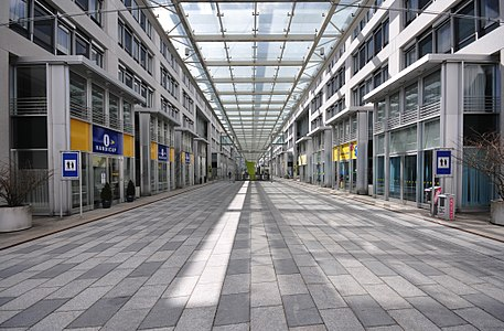 St. Pölten, Austria, Landhausviertel-Boulevard