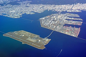 Kobe Airport - Kobe Airport and transportations to the downtown