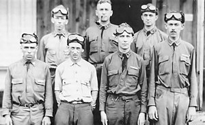 Arkansas Air National Guard - Members of the 154th Observation Squadron, 1925