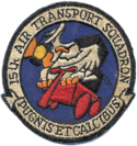15th Air Transport Squadron - MATS - Emblem.png