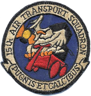 15th Air Transport Squadron - Image: 15th Air Transport Squadron MATS Emblem