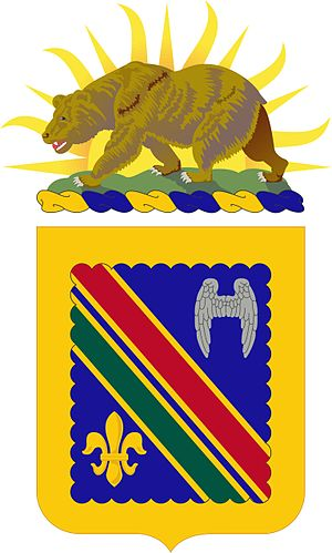 160th Infantry Regiment (United States) - Coat of arms