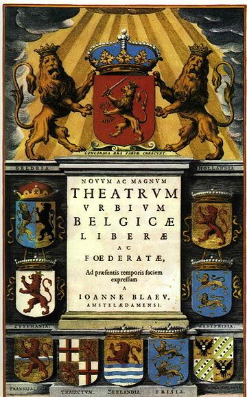 1652 Theatrum Urbium Belgicae Blaeu