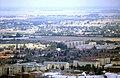 178R26270888 Blick vom Donauturm, Blick Richtung Nordosten Breitenlee, im Vordergrund Dach Donauzentrum, dahinter Wagramerstrasse,.jpg