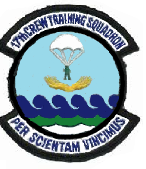 17th Training Squadron - Image: 17 Crew Training Sq emblem