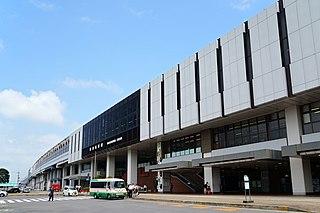 Nasushiobara Station Railway station in Nasushiobara, Tochigi Prefecture, Japan