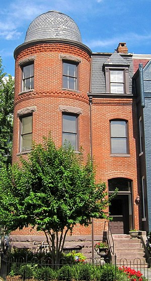Henry Clay Hall - Hall's former residence in Washington, D.C.