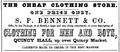 1851 Bennett BostonDirectory.png