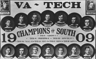 1909 VPI football team - Image: 1909VPIfb