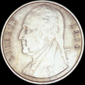 1910 Pattern Washington Nickel, obverse.png