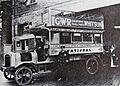 1913 paraffin fired National Steam Car Co Ltd bus at Nunhead Garage..jpg