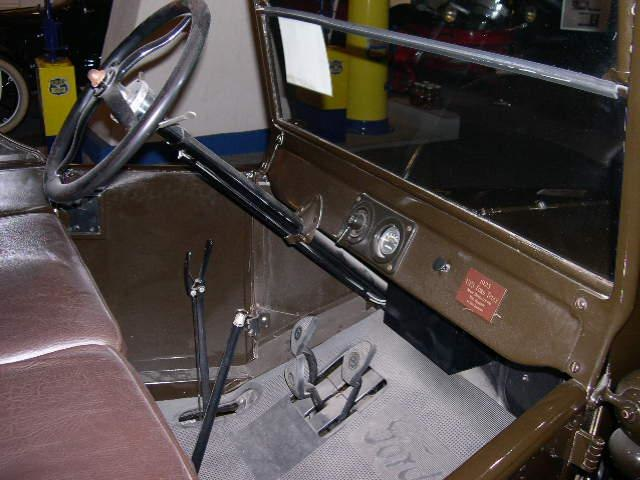 1923 Ford Model T UPS interior.jpg