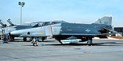 192d Reconnaissance Squadron RF-4C 64-017 1989