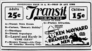 Branded Men - Newspaper advertisement