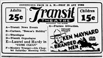Branded Men - Newspaper advertisement