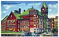 1941 Postcard showing Fairfield County Courthouse in Bridgeport, Connecticut.jpg